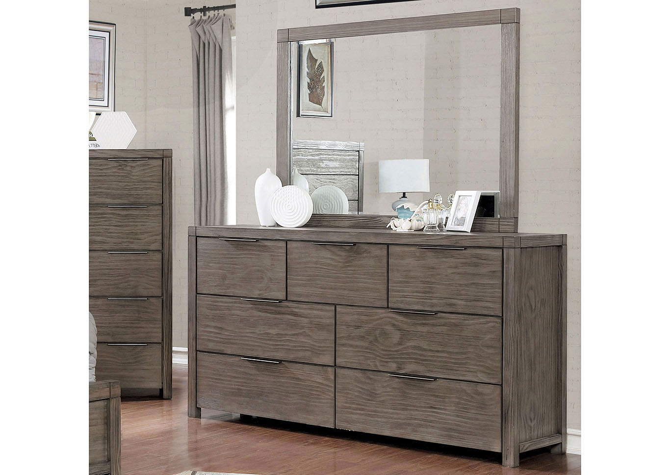 Asterope Gray Dresser,Furniture of America