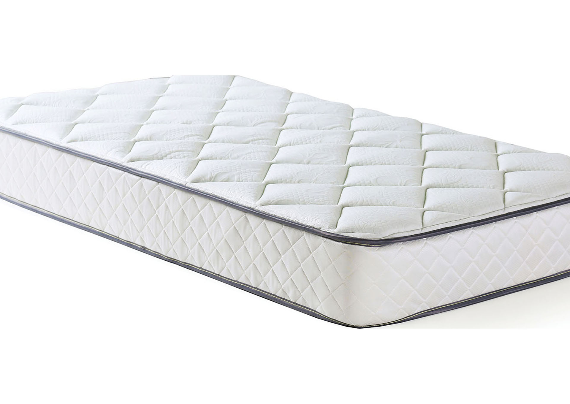 Oleander White Twin Mattress,Furniture of America