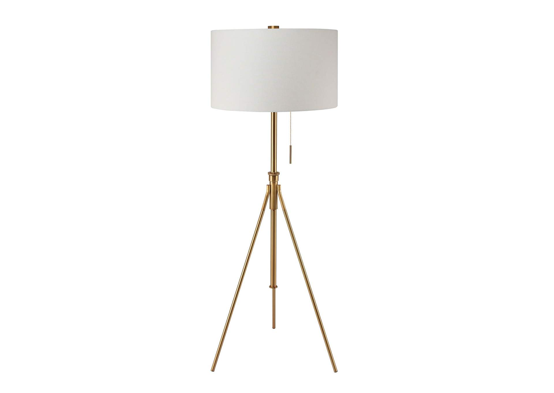 Zaya Stained Gold Floor Lamp,Furniture of America
