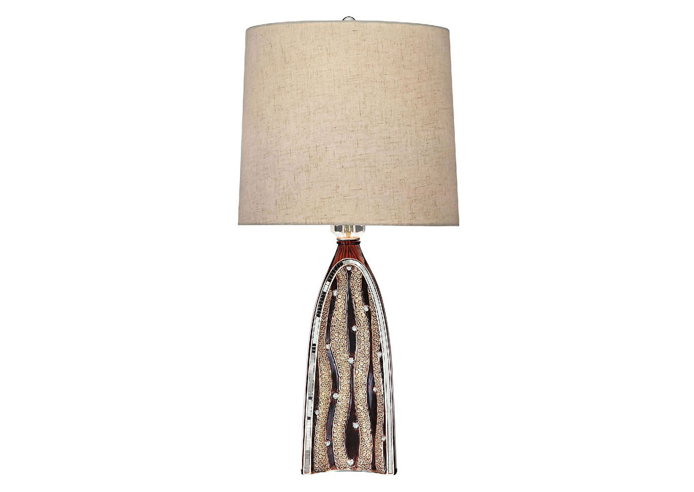 Velma Beige Table Lamp,Furniture of America