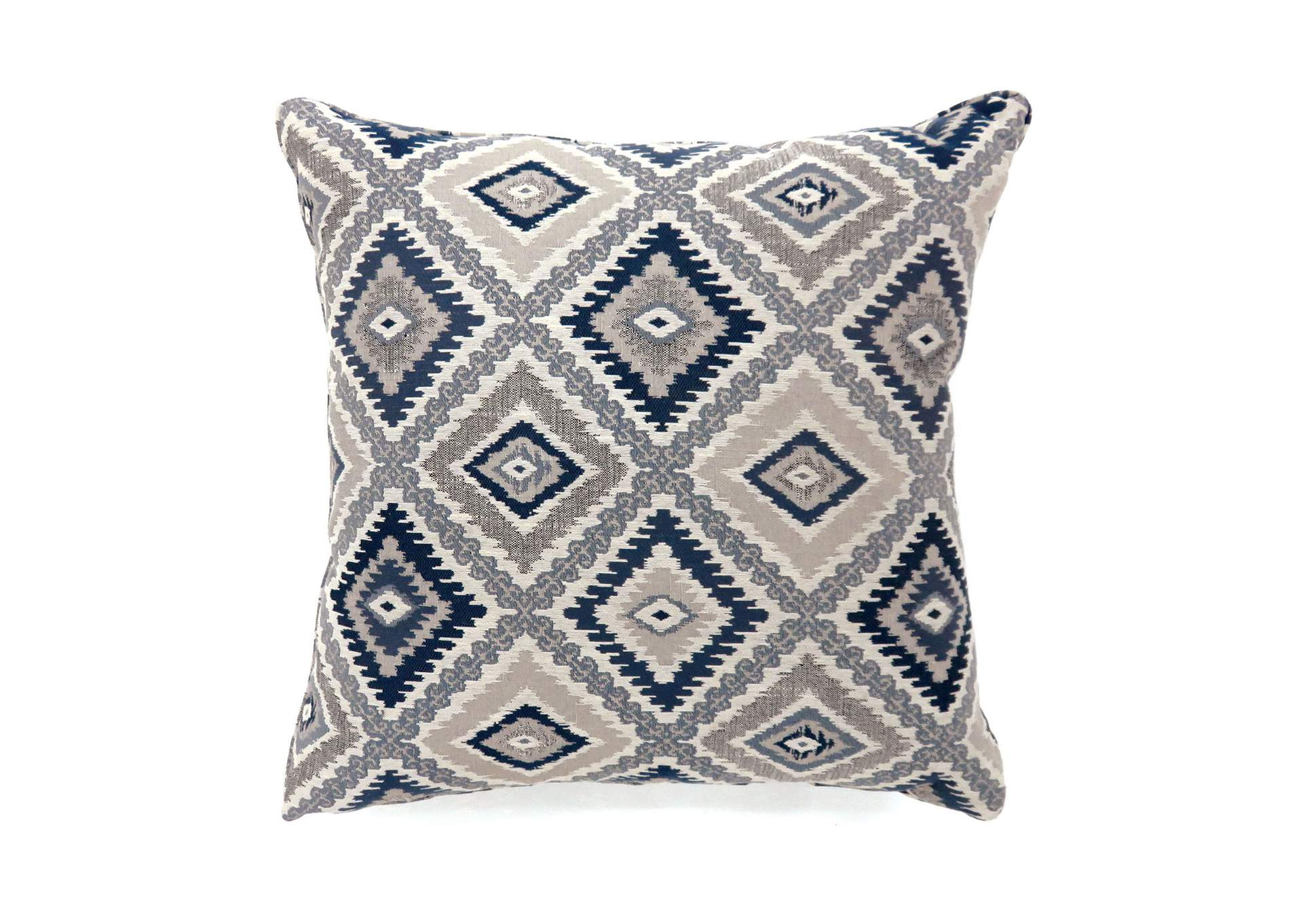 Furniture Ville Bronx Ny Deamund Blue Diamond Pattern