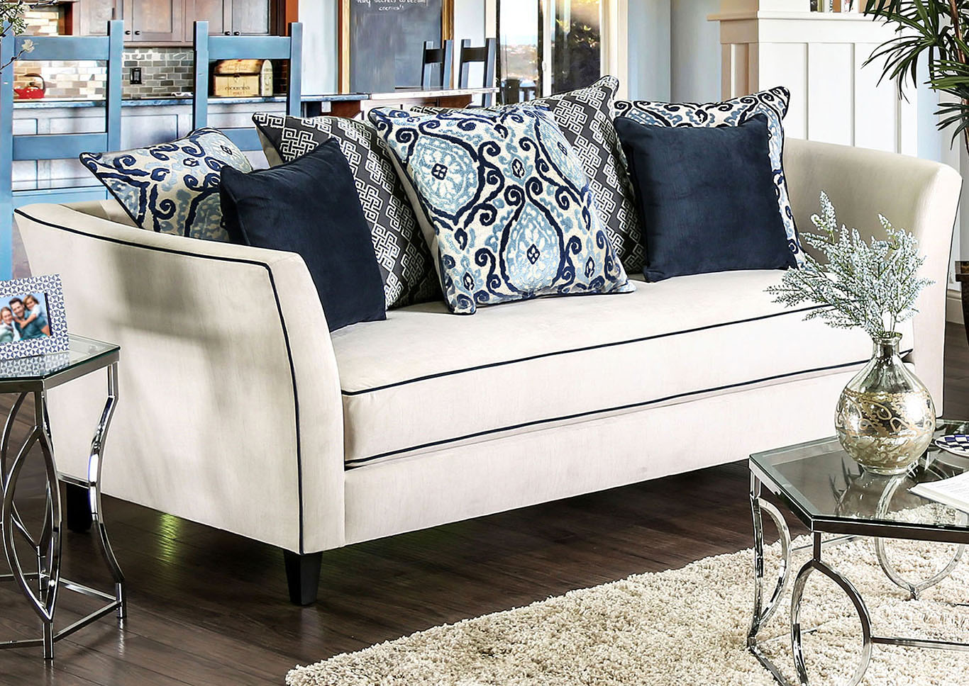 Groovy Best Buy Furniture And Mattress Chantal Off White Sofa W Pillows Squirreltailoven Fun Painted Chair Ideas Images Squirreltailovenorg
