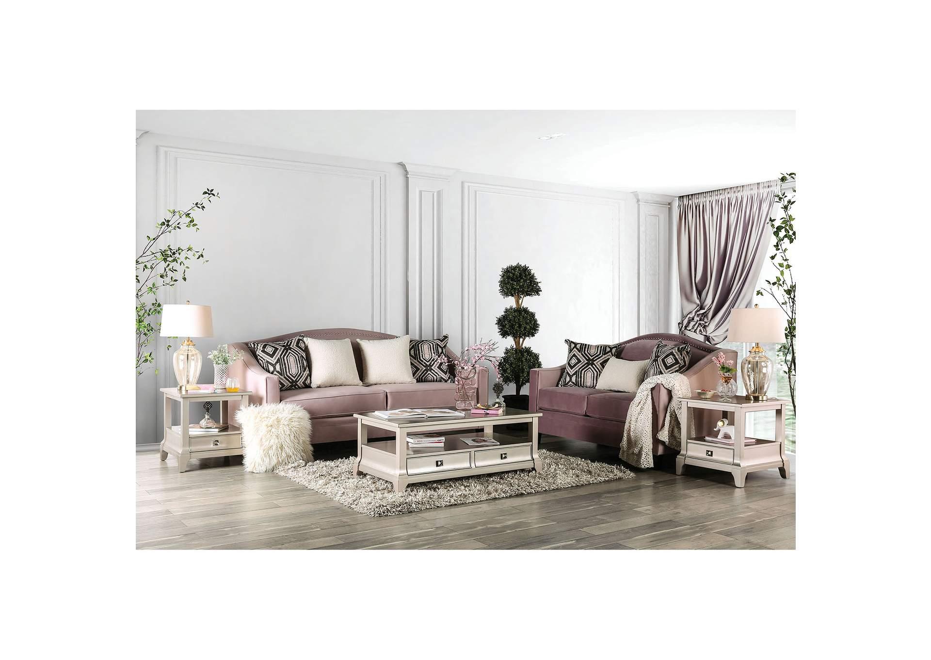 Tempo Collection Campana Pink Sofa