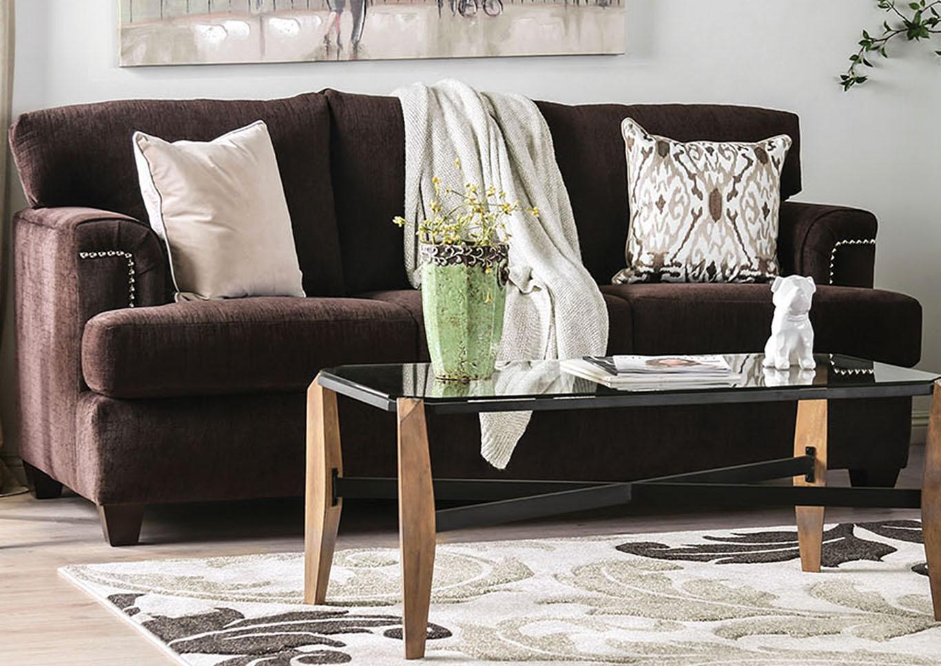 Awe Inspiring Ideal Furniture San Antonio West Brynlee Chocolate Sofa Beatyapartments Chair Design Images Beatyapartmentscom