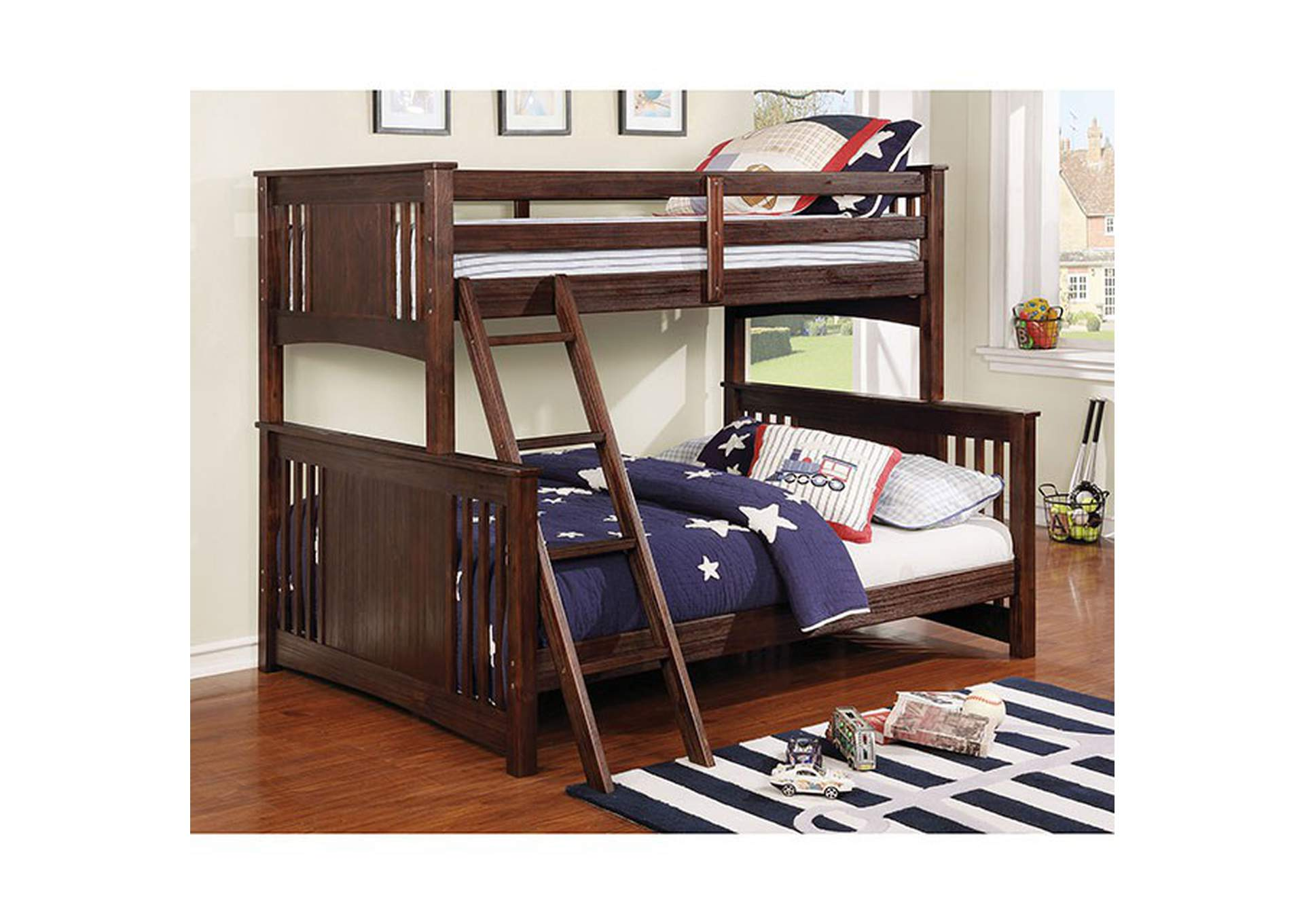 Spring Creek Twin/Full Bunk Bed,Furniture of America