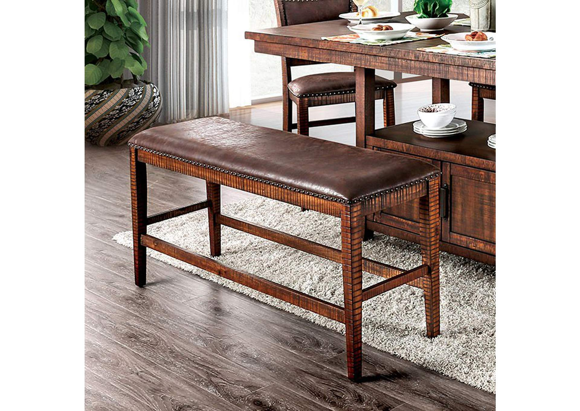 Wichita Counter Height Bench,Furniture of America