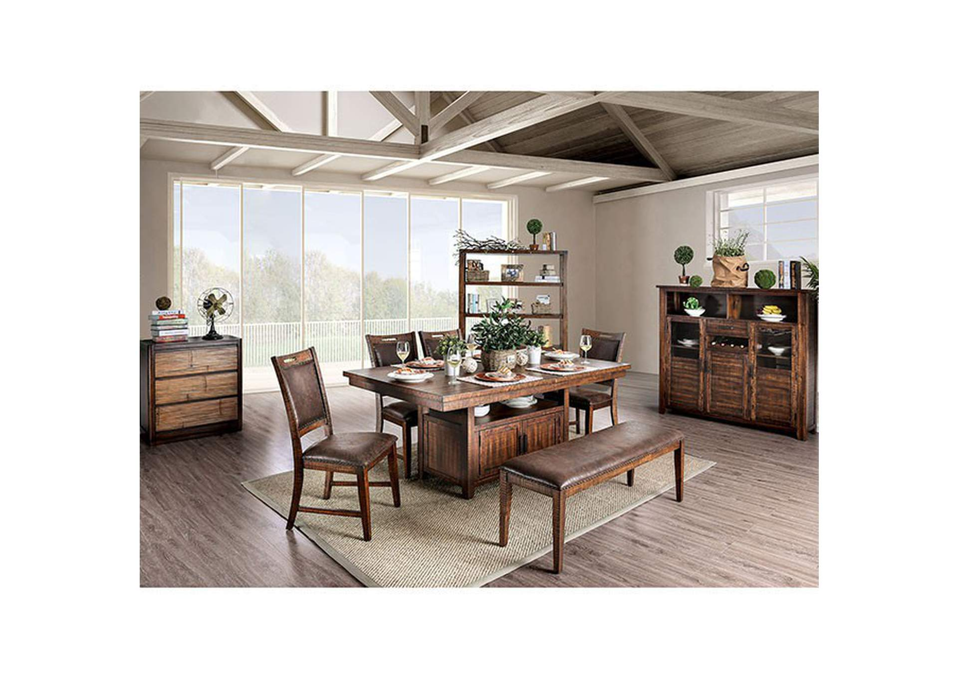 Wichita Dining Table,Furniture of America