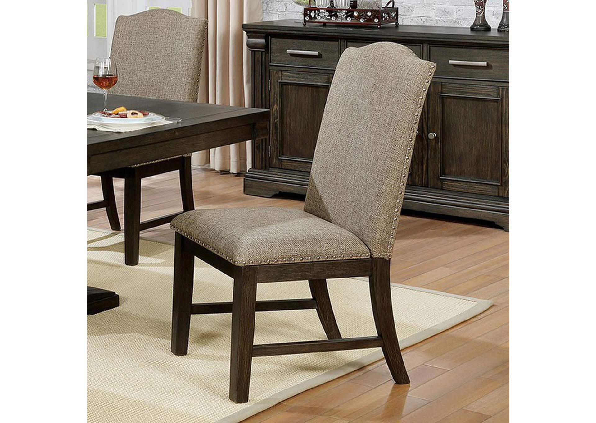 Faulk Side Chair (Set of 2),Furniture of America