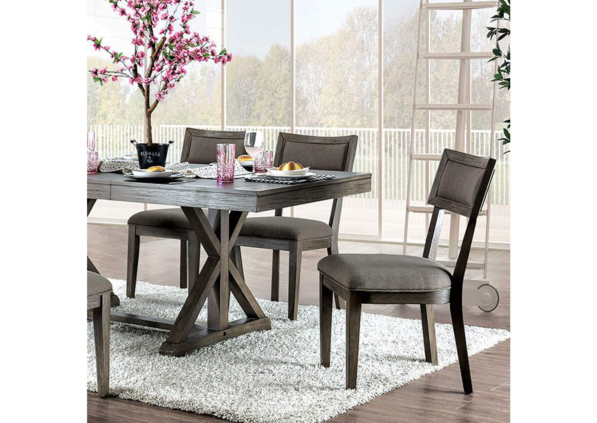 Leeds Dining Table,Furniture of America