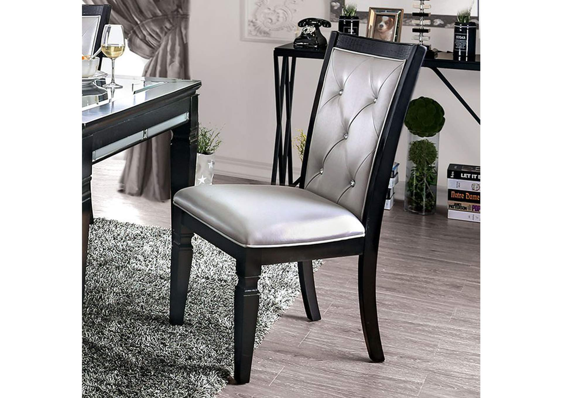 Alena Side Chair (Set of 2),Furniture of America