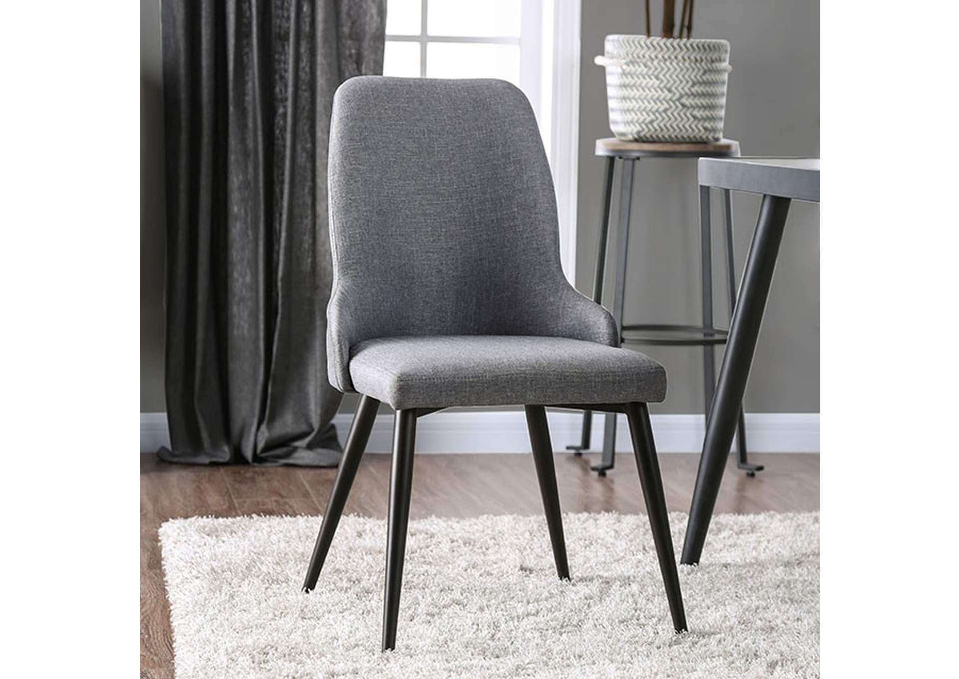 Vilhelm I Side Chair (Set of 2),Furniture of America