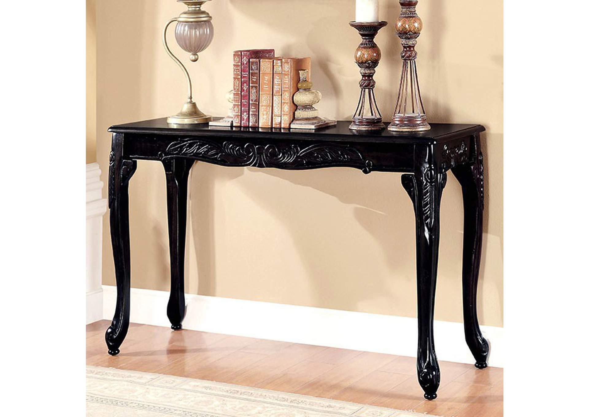 Furniture MOC Cheshire Black Sofa Table