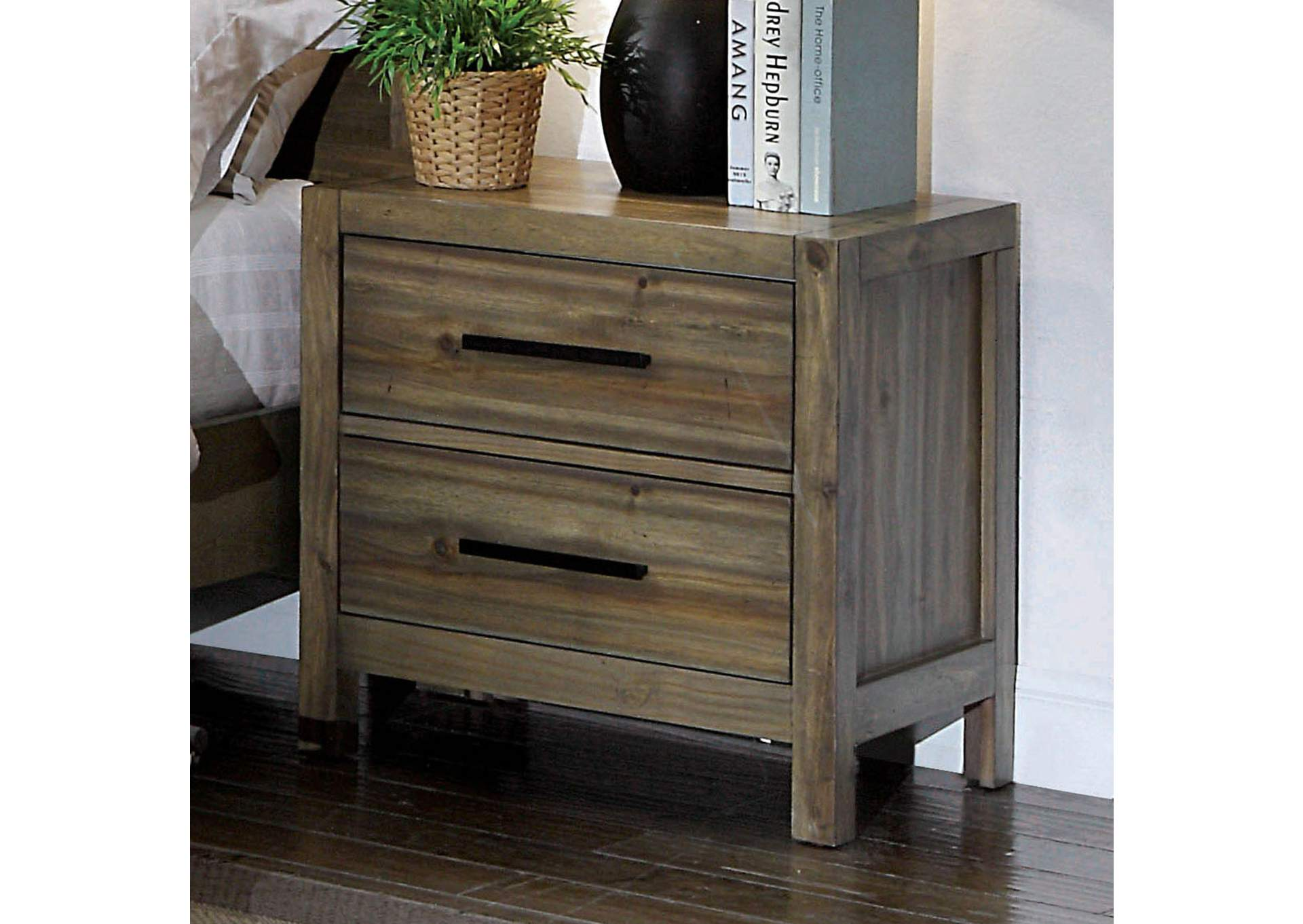 Garland Night Stand,Furniture of America