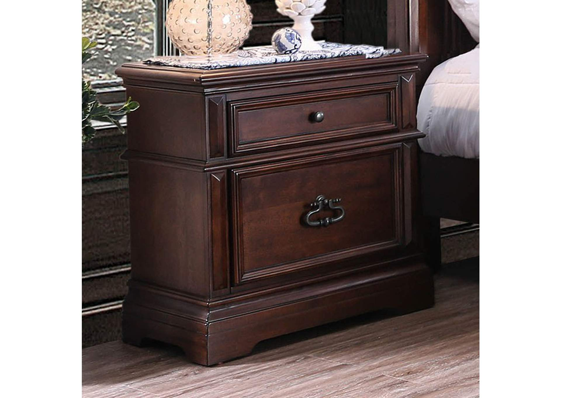 Millicent Night Stand,Furniture of America