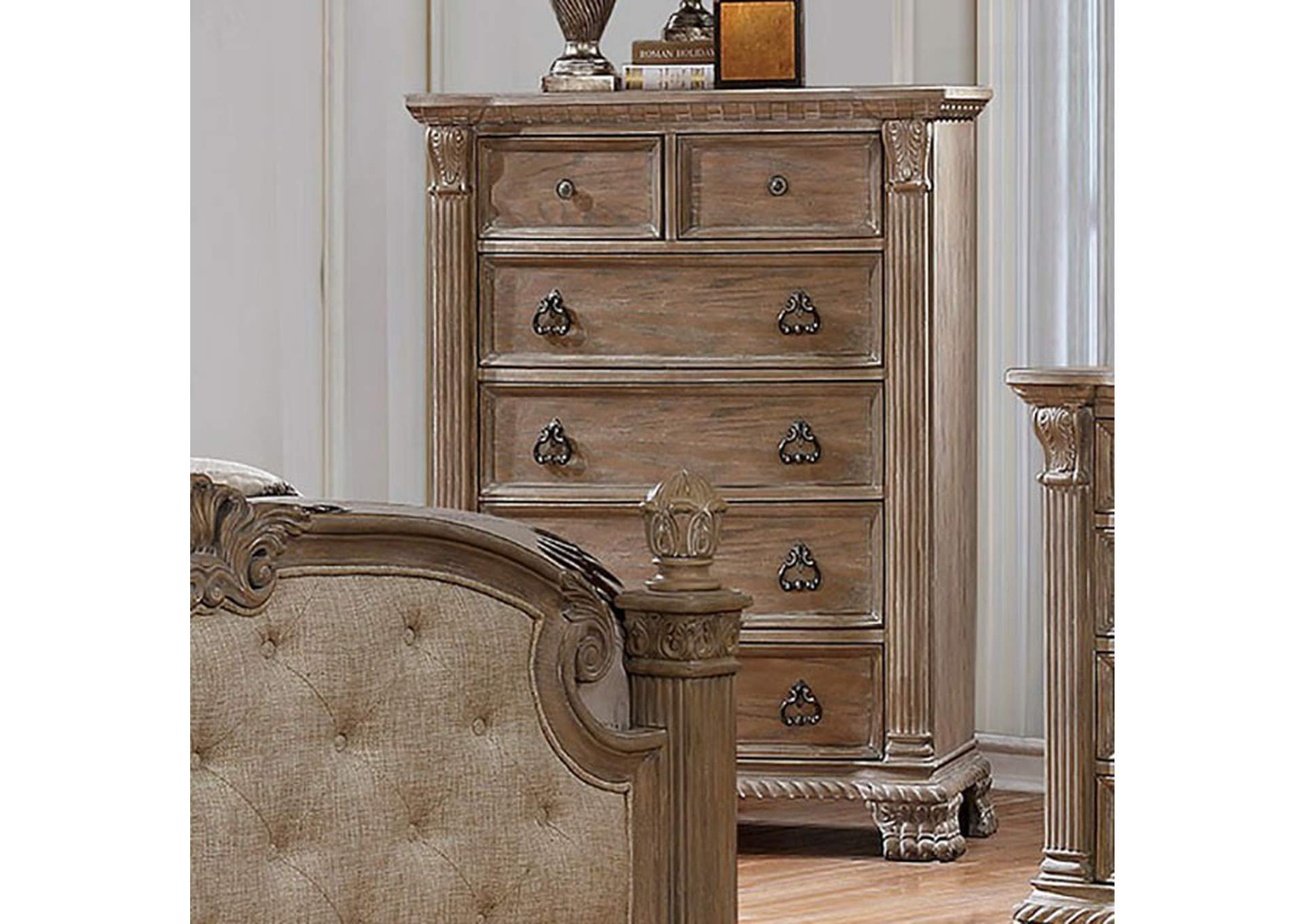Montgomery Rustic Natural Chest,Furniture of America