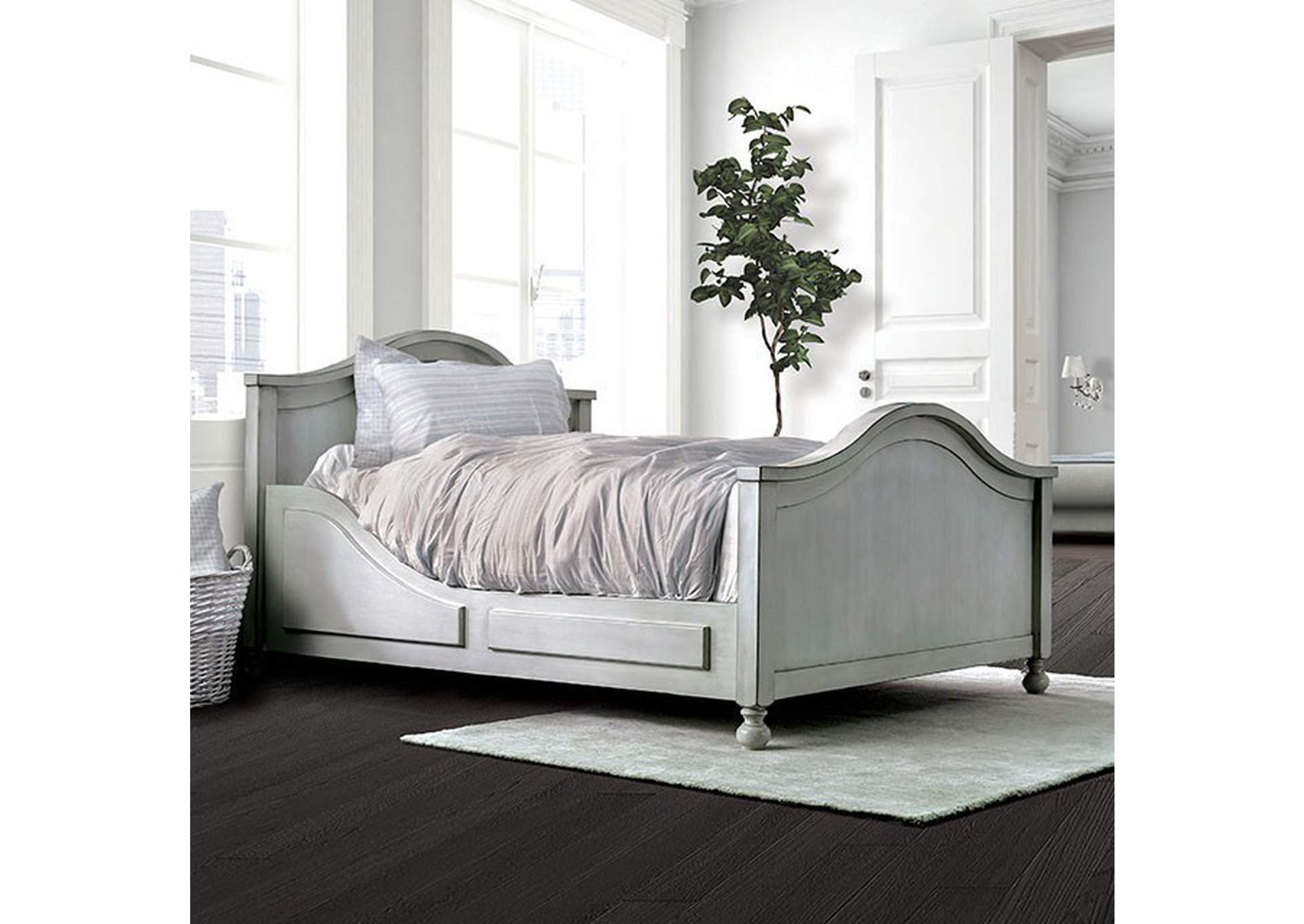 Lovis Gray Full Bed,Furniture of America