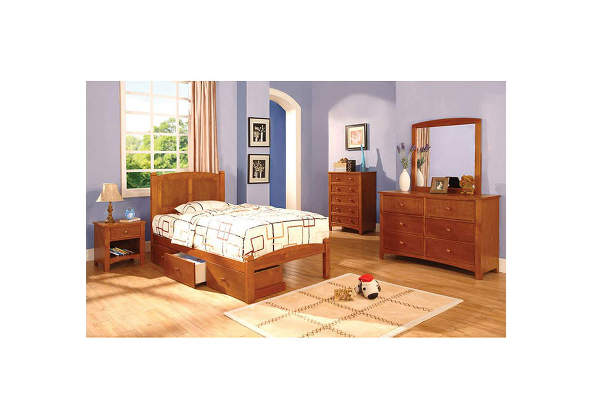 Omnus Oak Dresser,Furniture of America