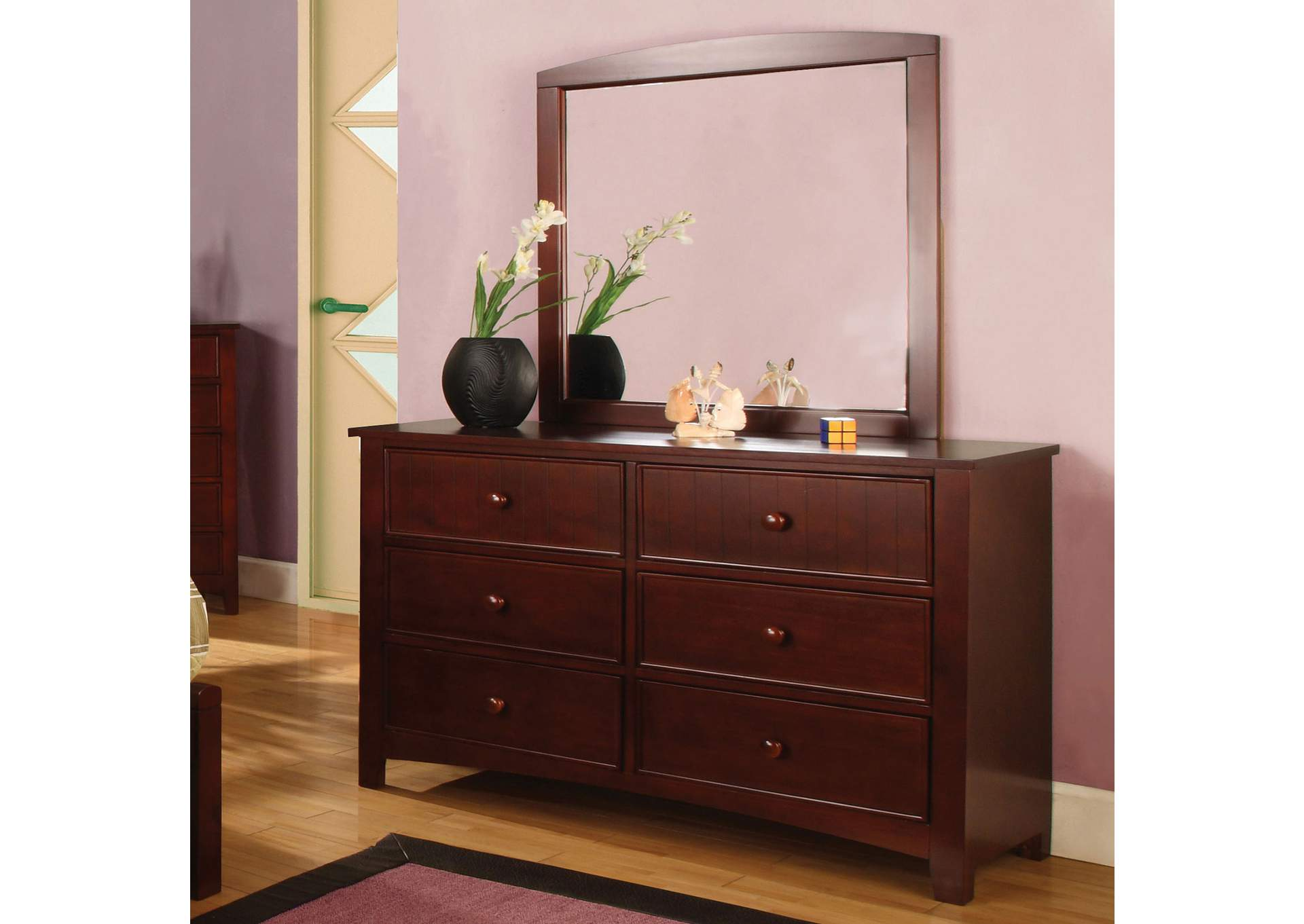 Omnus Cherry Dresser,Furniture of America