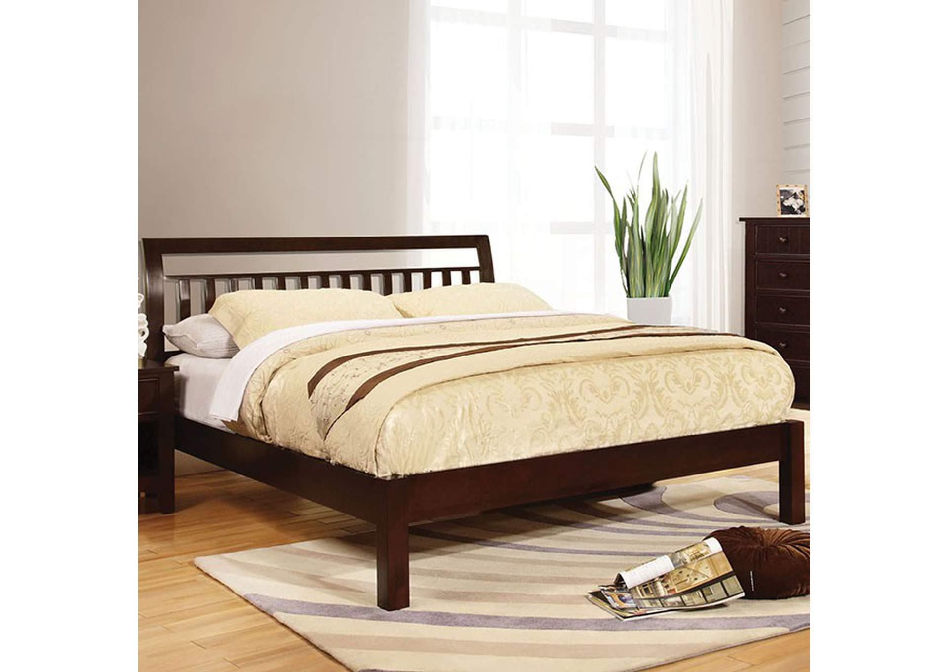 Corry Queen Sleigh Bed,Furniture of America