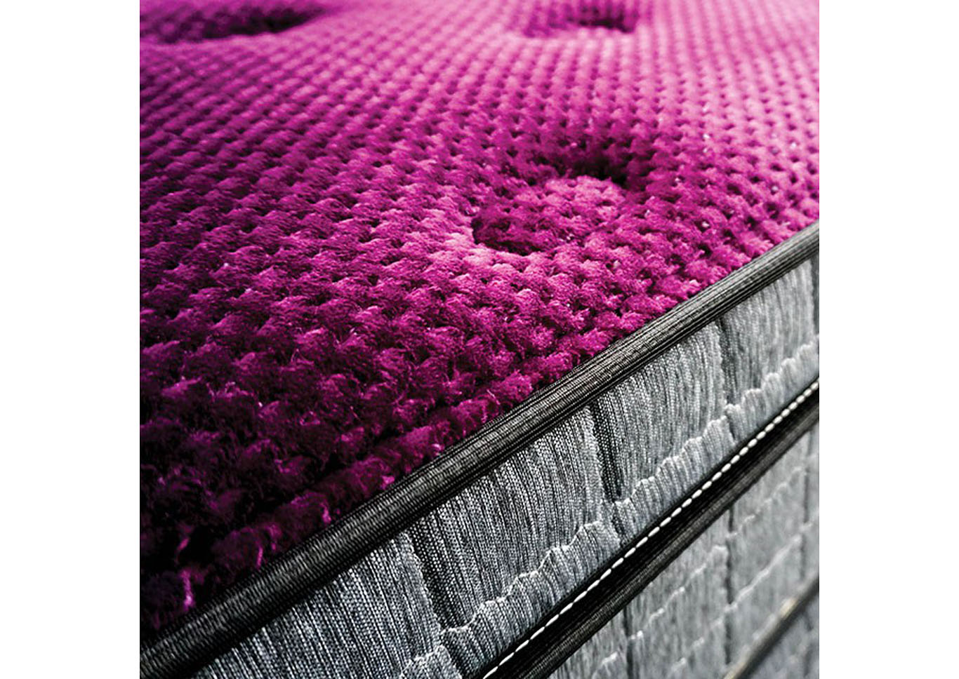 Minnetonka Purple Queen Mattress,Furniture of America