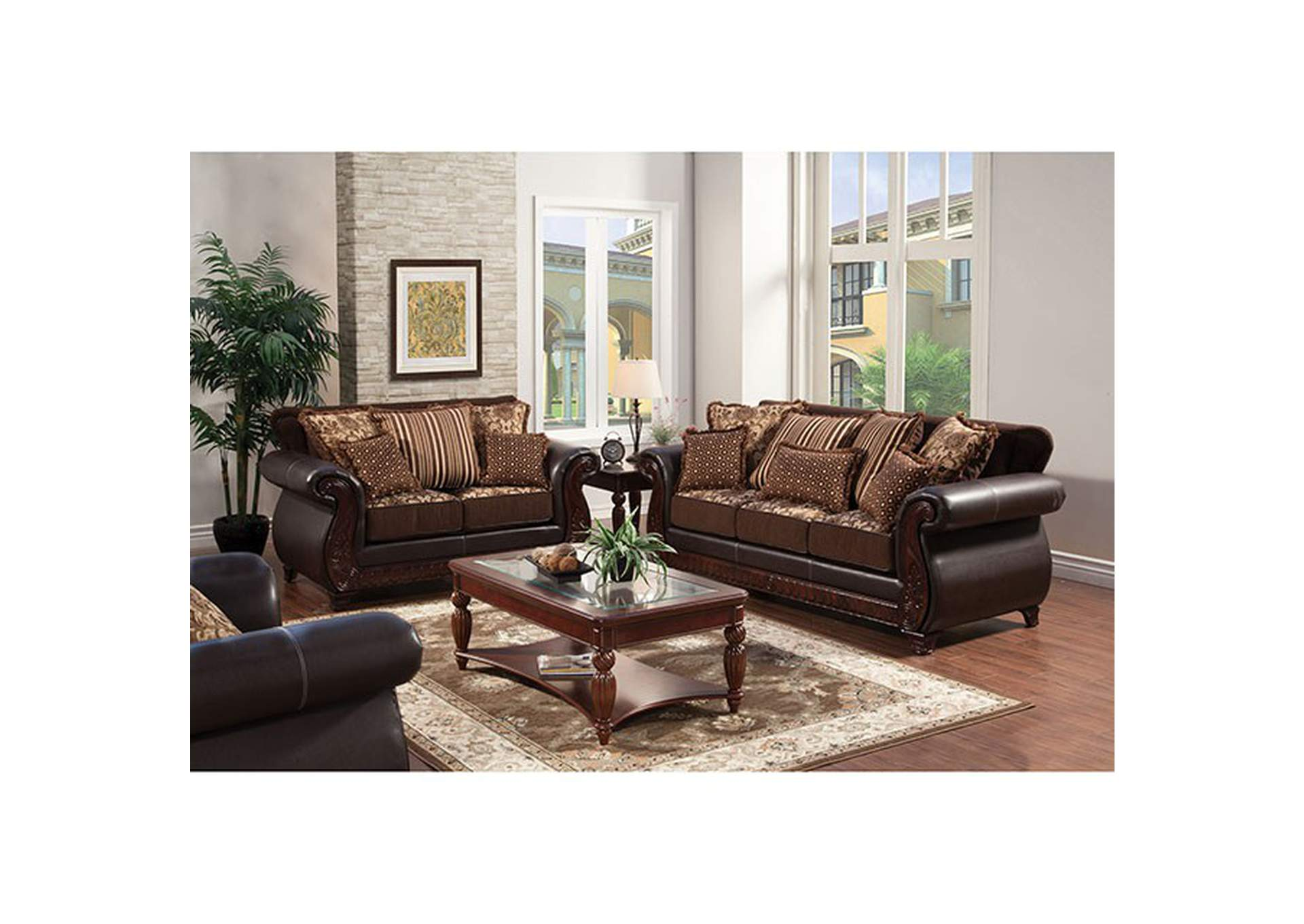 Cohen\'s Furniture - New Castle, DE Franklin Burgundy Sofa ...