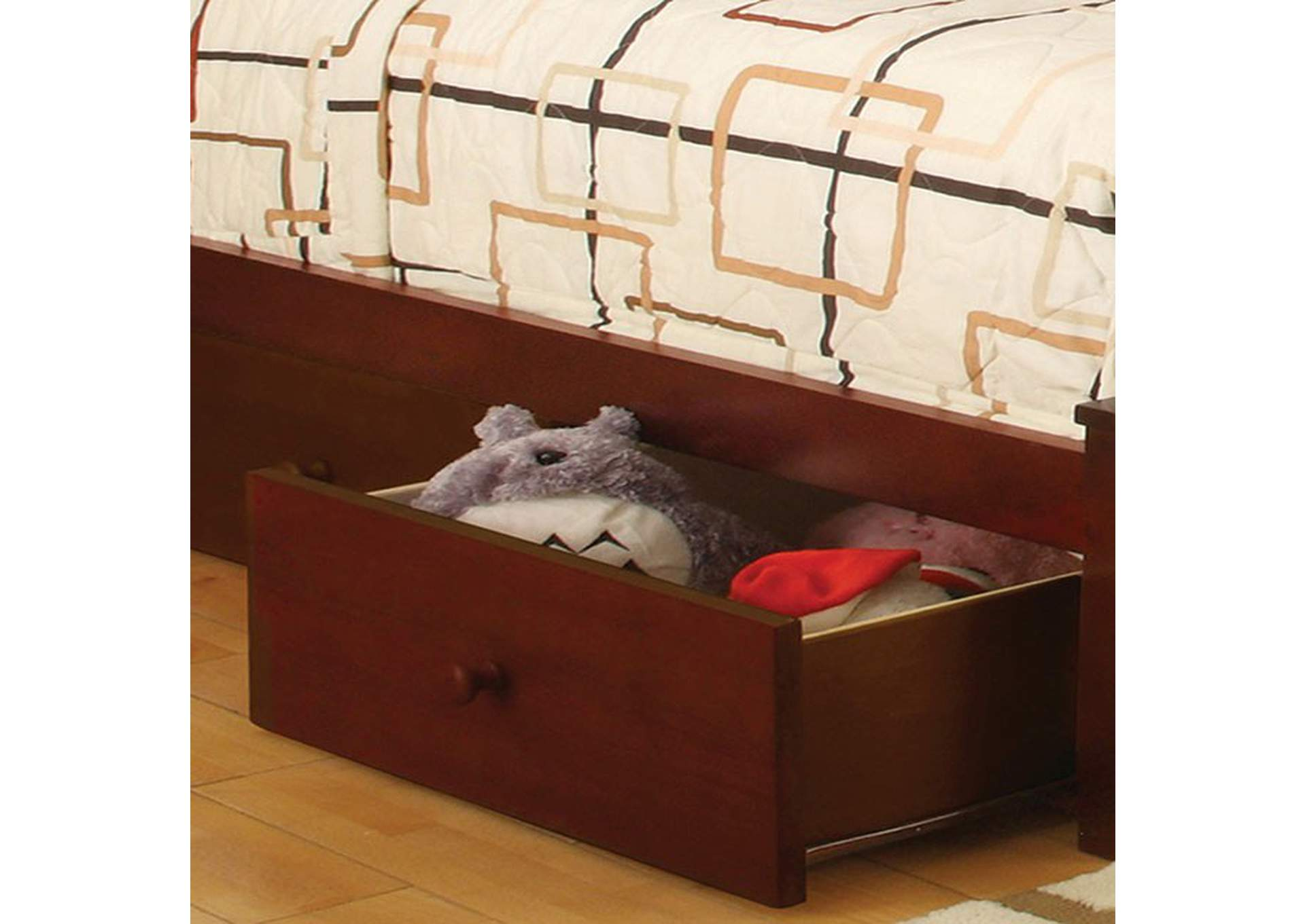 Omnus Cherry Underbed Drawers,Furniture of America