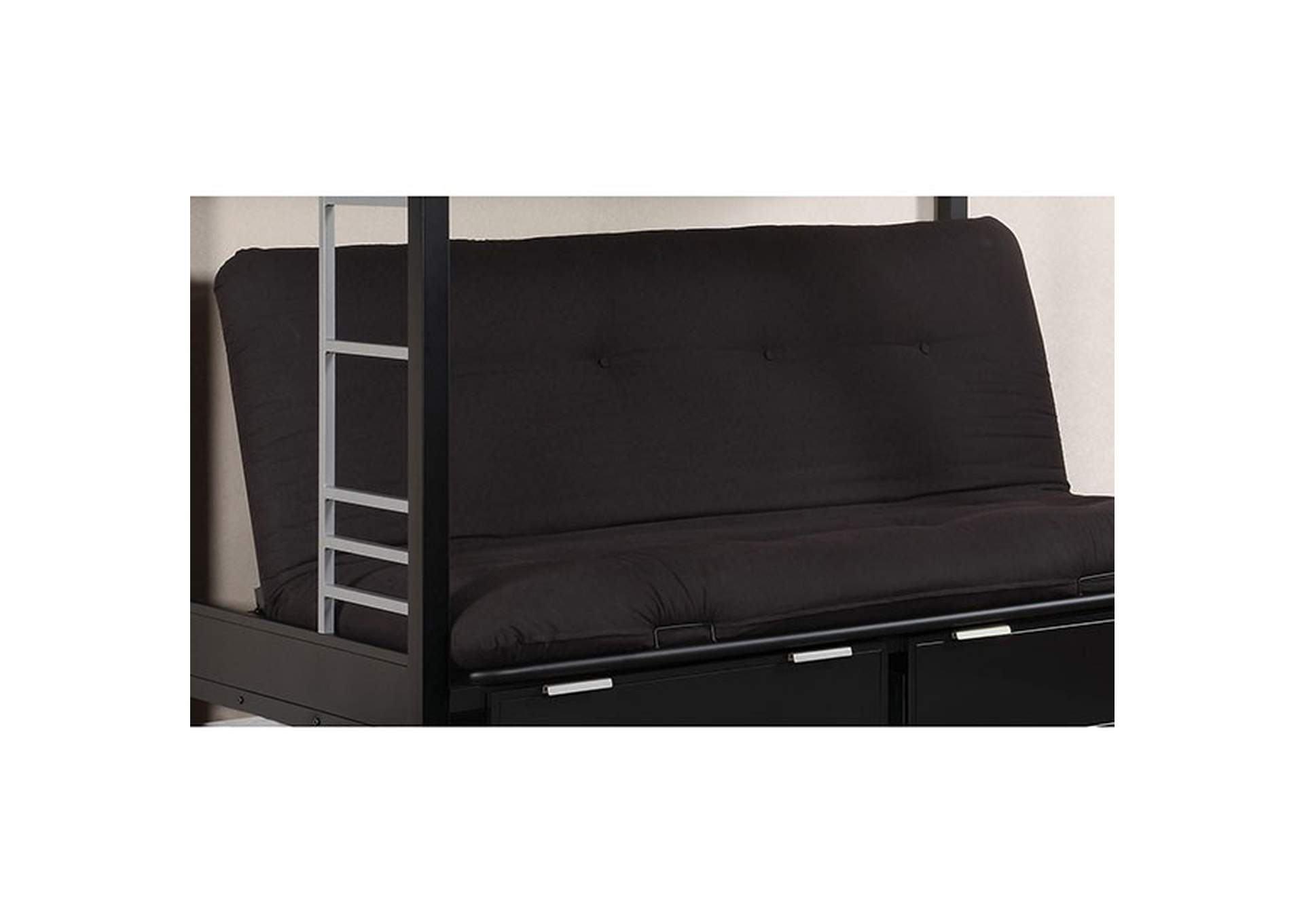 "Plosh 6"" Black Futon Mattress,Furniture of America"