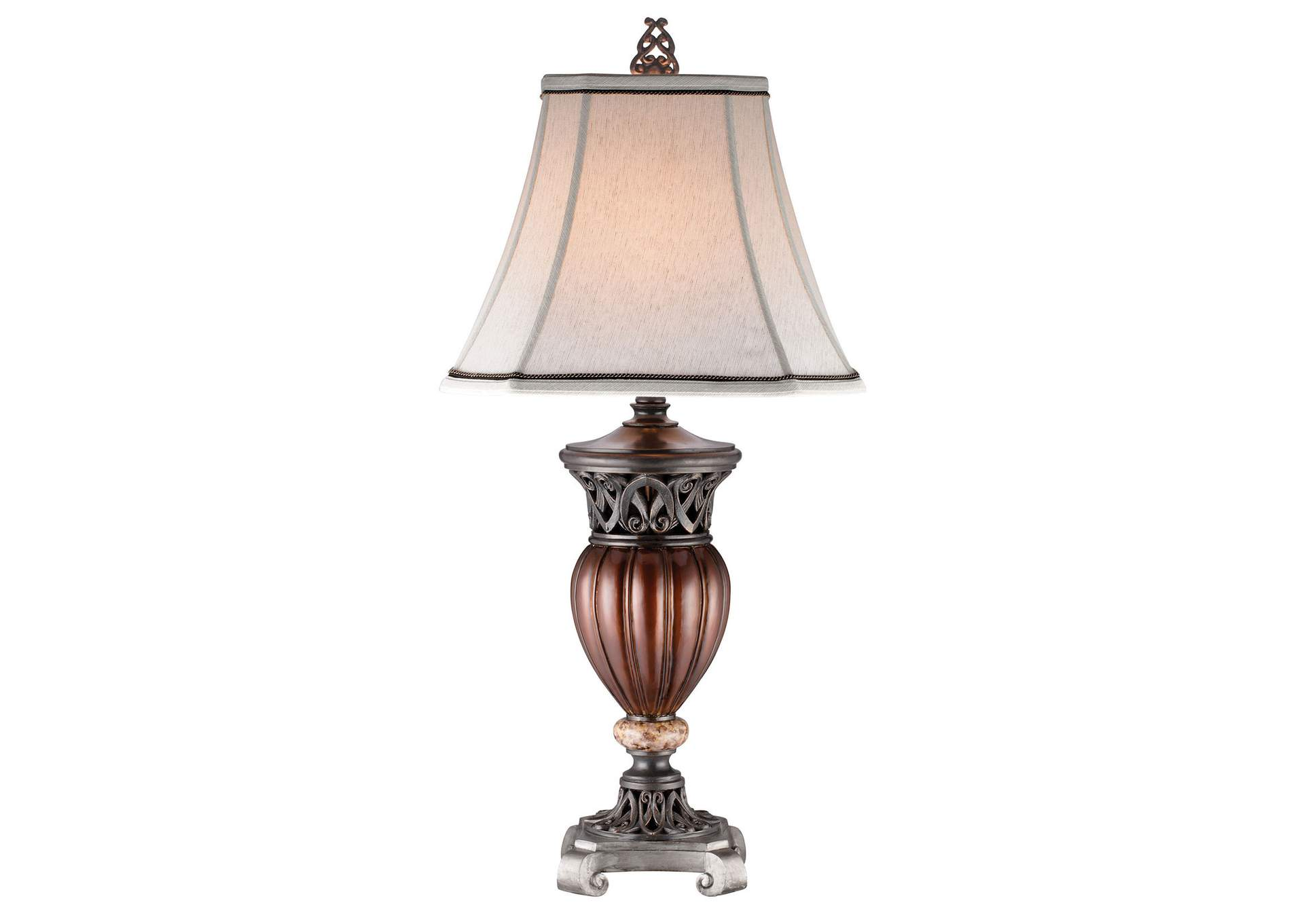 Luna Brown Table Lamp (Set of 2),Furniture of America