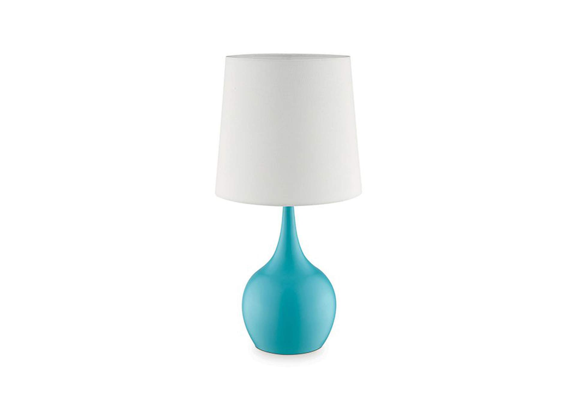 Edie Blue Table Lamp,Furniture of America