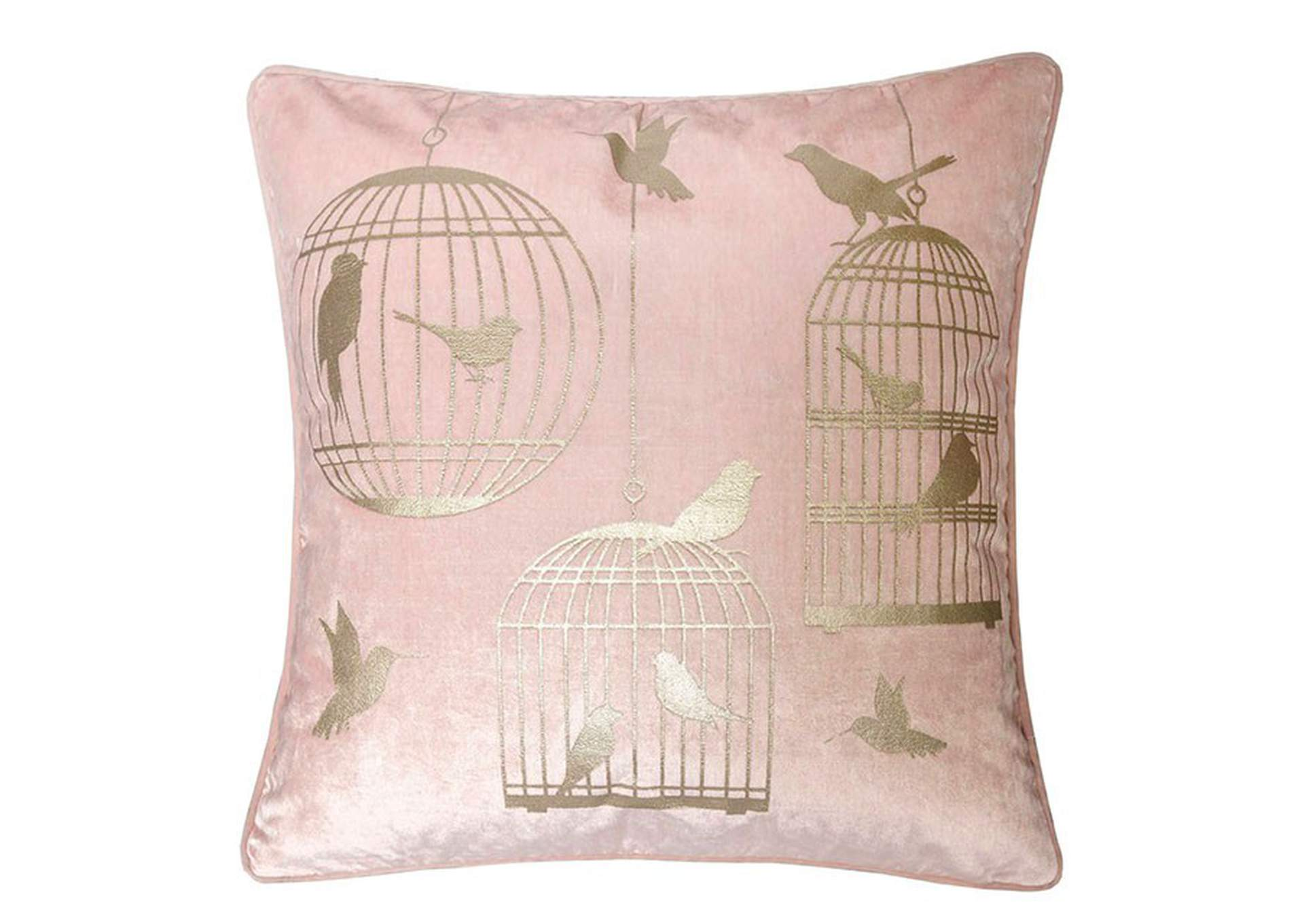 Rina Pink Accent Pillow (Set of 2),Furniture of America