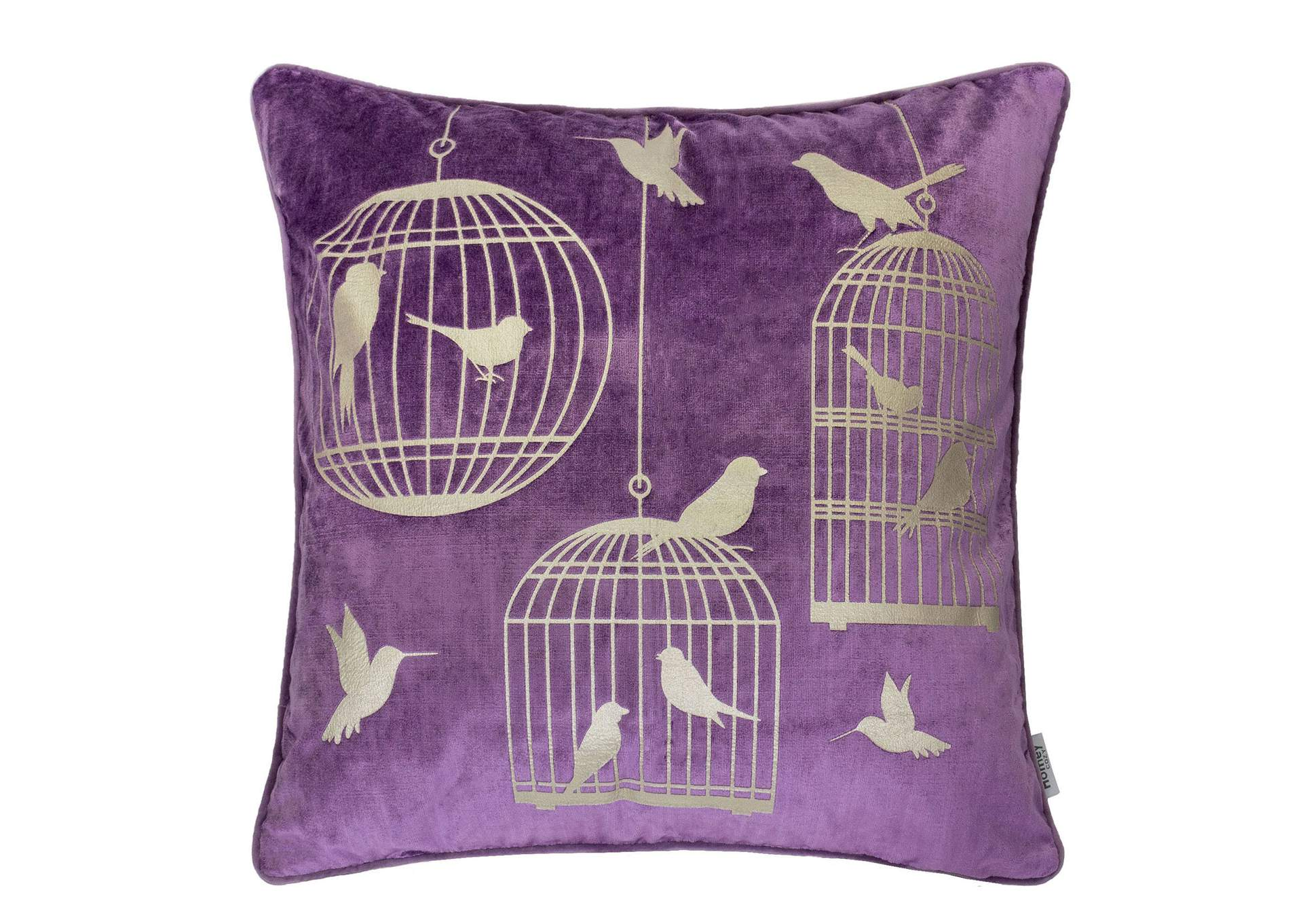 Rina Purple Accent Pillow (Set of 2),Furniture of America