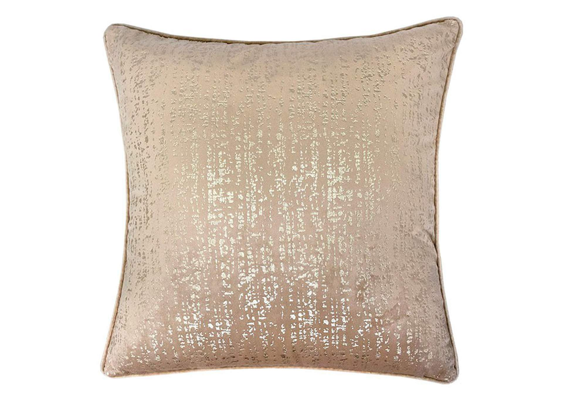 Belle Beige Accent Pillow (Set of 2),Furniture of America