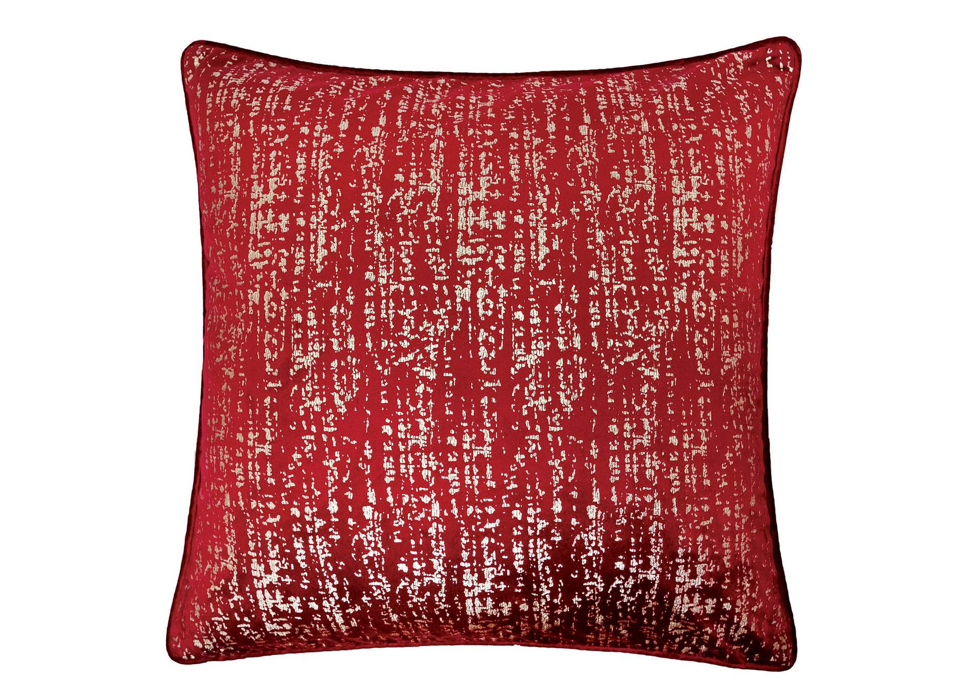 Belle Red Accent Pillow (Set of 2),Furniture of America