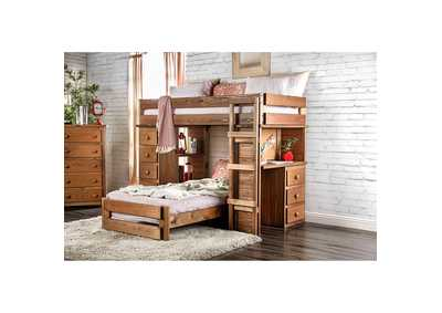 Beckford Oak Twin/Twin Loft Bed