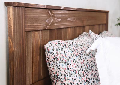 Ila Mahogany Eastern King Headboard