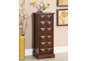 Belridge Jewerly Chest w/3 Drawers & Cabinet