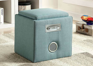Rythmo Blue Bluetooth Speaker Ottoman