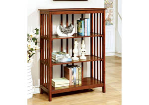 Loopen Oak 3-Tier Book Shelf