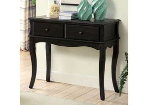 Toni Antique Black Hallway Cabinet