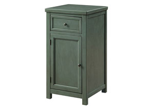 Marana Teal Chairside Table