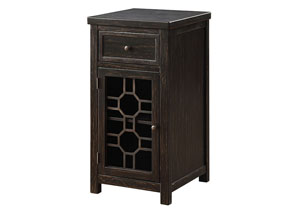 Killeen Black Chairside Table