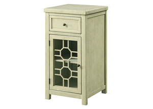 Killeen White Chairside Table