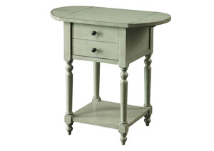 Beadle Gray Chairside Table