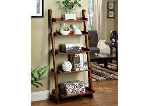 Lugo Oak 5-Tier Ladder Shelf