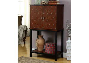 Image for Catlin Cherry Wine Cabinet