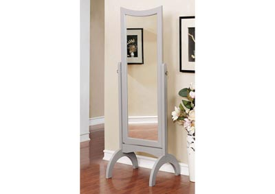 Benita Gray Standing Mirror w/Full Tilt Motion