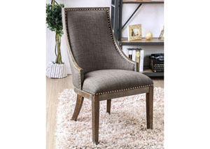 Iqaluit Gray Accent Chair