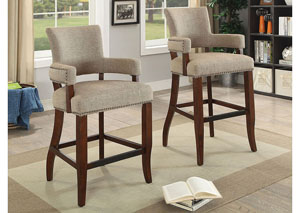 Valladolid Light Brown Bar Chair