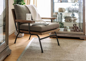 Santiago Light Brown Accent Chair