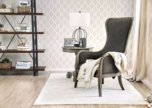 Charlottestown Gray Accent Chair
